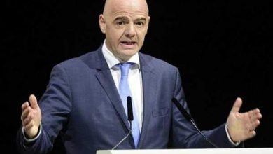 Photo of Gianni Infantino re-elected for second term as FIFA president