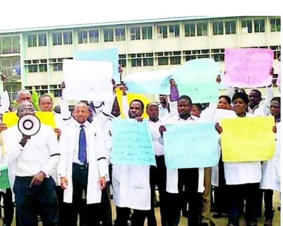 Medical workers strike imo state