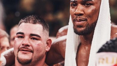 Photo of Anthony Joshua starts eating the Mexican food Andy Ruiz eats ahead of rematch