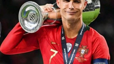 Photo of Ronaldo lifts UEFA Nations League cup, his second international trophy