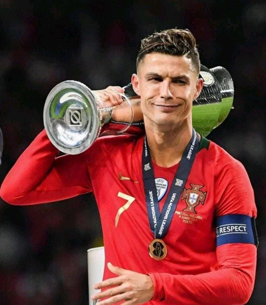 Ronaldo lifts UEFA Nations League cup, his second ...