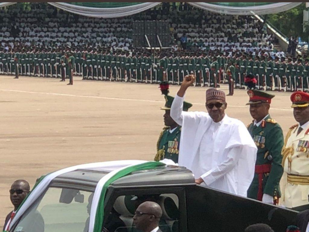 Buhari visited MKO Abiola's grave
