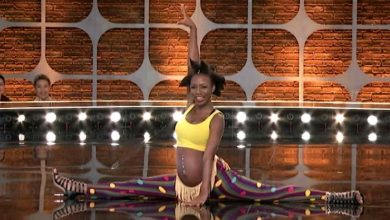 Photo of Pregnant Korra Obidi wows judges at dance competition