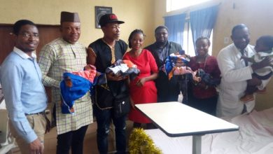 Photo of 'Return home' – Governor's aide tells fleeing father of quadruplets
