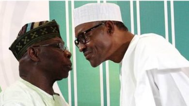 Photo of Tell Nigerians why you snubbed democracy day celebration – Buhari to Obasanjo