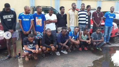 Photo of Pictures of the cars recovered after EFCC arrested 16 suspected Yahoo boys