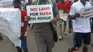 Photo of Benue State protests against establishing Ruga settlement (Photos)