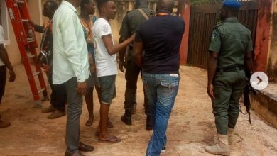 Photo of Self-acclaimed cultist working with IBEDC, orders police to beat a client