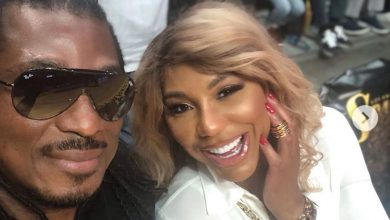 Photo of Tamar Braxton's Nigerian boyfriend shares picture of her cleaning his messy kitchen
