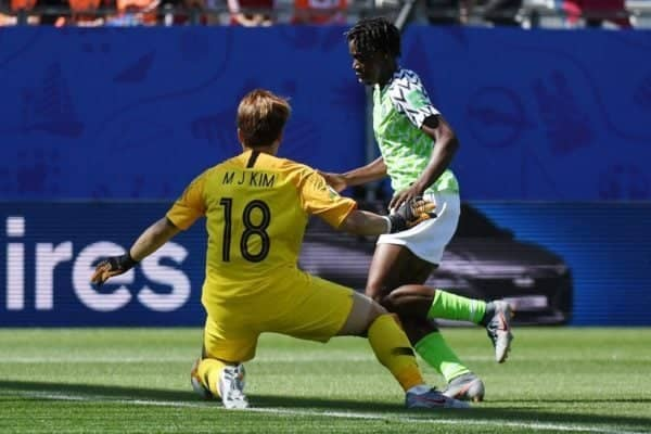 FIFA Women World Cup Nigeria vs South Korea 2-0