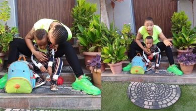 Photo of Fan calls Tonto Dikeh's son a 'product of 40 seconds' and get this response…