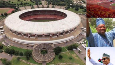 Photo of Democracy day: Hilarious reactions as Buhari renames Abuja National Stadium to Moshood Abiola Stadium