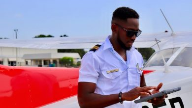Photo of BBNaija's Miracle now certified a pilot in the US