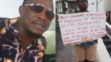 Photo of Rivers Lawmaker suspended over rape allegation