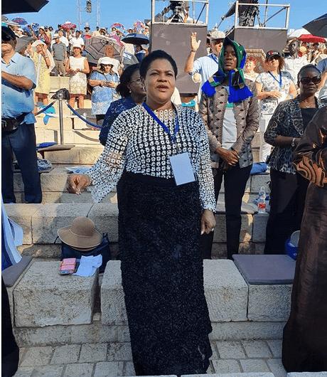 Woman storms TB Joshua's crusade in Nazareth to stop divorce - Kemi