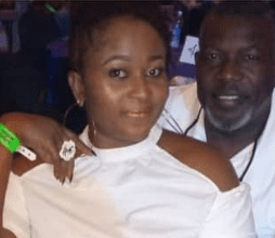 Photo of Actor Ejike Asiegbu's wife says dressing like this will stop your husband from cheating (Photos)