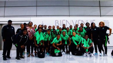 Photo of Nigeria's Super Falcons arrive France for Women world cup 2019