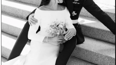 Photo of Private wedding photos of Prince Harry and Meghan Markle leaked by hackers