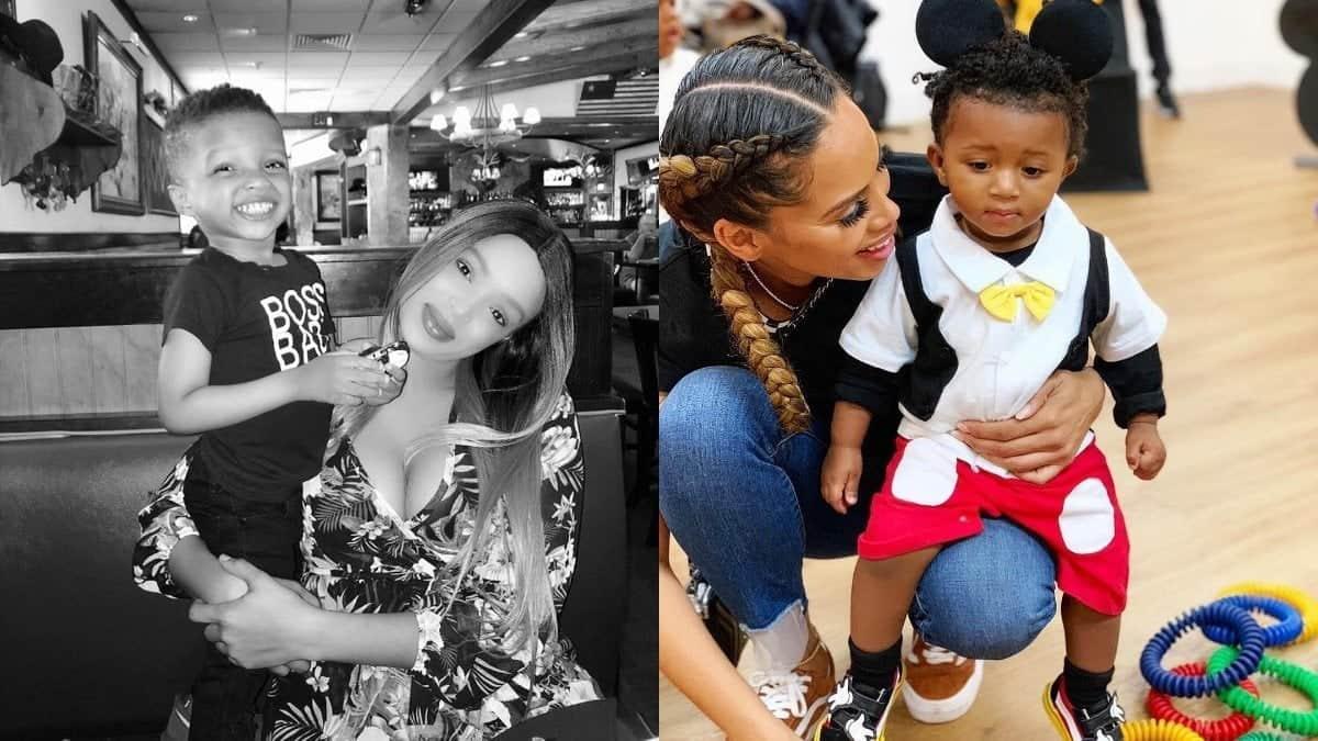 Wizkid's second babymama responds to Jada Pollock's domestic violence claim