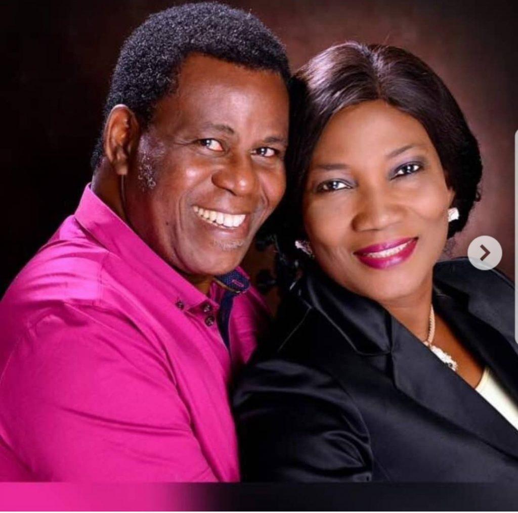 Rev Funke Adejumo and husband