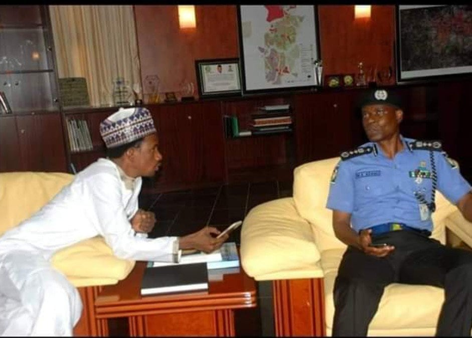 Senator Elisha Abbo igp police
