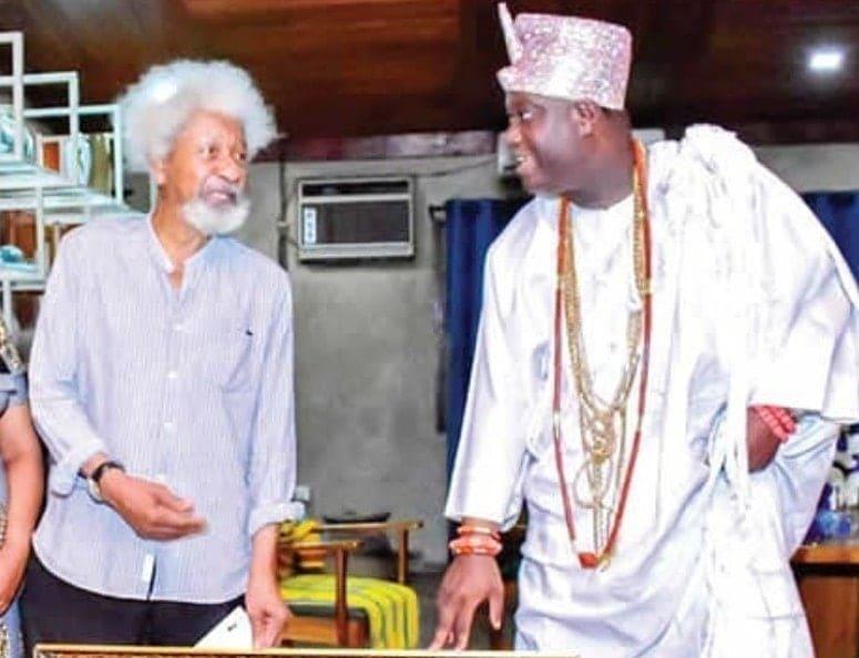 Wole Soyinka - Ooni of Ife