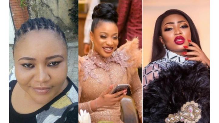 Tonto Dikeh's step-sister, Dayo Amusa drag Blessing Osom for revealing Tonto