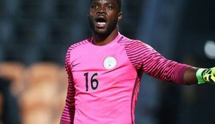Goalkeeper Akpeyi states that he's not to blame for the loss Nigeria suffered at the hands of Algeria