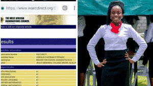 Photo of 16-year-old girl records 9As in 2019 WAEC result