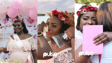 Photo of 6 beautiful maternity pictures of Ronke Odusanya you should see