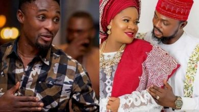 Photo of Adeniyi Johnson shares picture to prove that he's finer than the new man Toyin Abraham married