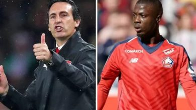 Photo of First photo of Nicolas Pepe in Arsenal shirt leaks