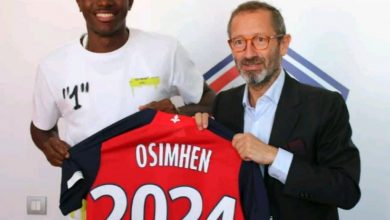 Photo of Super Eagles striker, Victor Osimhen speaks as he gets unveiled by Lille