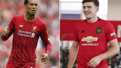 Photo of Van Dijk sends strong warning to Harry Maguire who took over his spot as most expensive defender