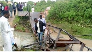 Photo of ATBU students feared dead as bridge collapses