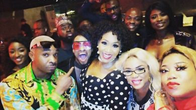 Photo of Iyabo Ojo ends beef with Kemi Olunloyo, surprises her at her 55th birthday dinner (Photos)