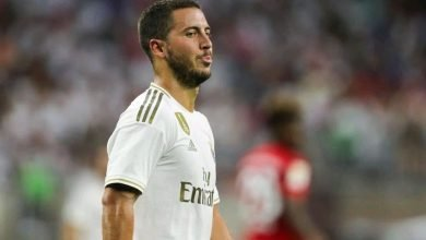 Photo of Hazard speaks after scoring first goal for Real Madrid