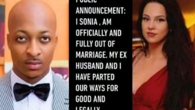Photo of Sonia Morales announces the official end of her marriage with IK Ogbonna