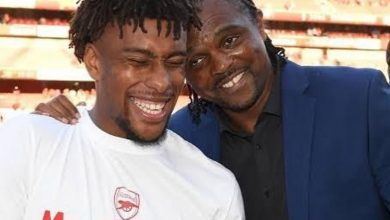 Photo of Kanu wishes Alex Iwobi well as he moves from Arsenal to Everton