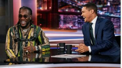 Photo of Photos from Burna Boy's performance on The Daily Show with Trevor Noah