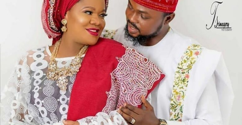 Image result for images of Toyin Abraham's manager, Samuel Olatunji