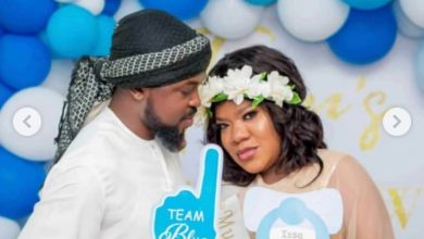 Photo of Nkechi Blessing reveals how Toyin Abraham collapsed during pregnancy