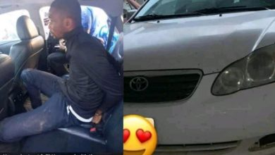 Photo of RCCG pastor arrested for snatching car from Uber driver
