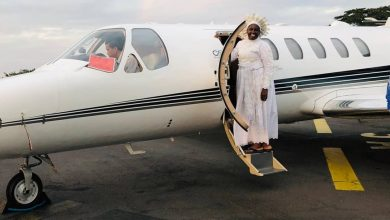 Photo of Reverend Mother Esther Abimbola Ajayi joins private jet league of pastors (Photos)