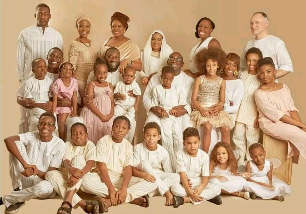 Kudirat Abiola's children, grandchildren and in-laws