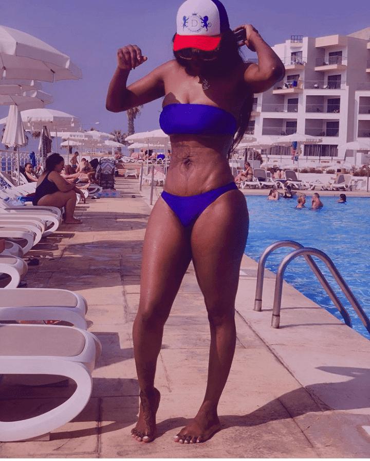 Nigerian celebrities with stretch marks