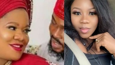 Photo of Toyin Abraham's fan prays for Wunmi Toriola to die during childbirth