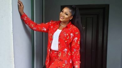 Photo of Actress, Omotola Jalade-Ekeinde glows in floral outfit (Photos)