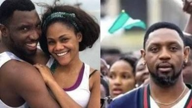 Photo of Forceful countering of rape claims:  – Timi Dakolo says he stands by his wife