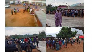 Photo of Lives lost as armed robbers invade bank in Ondo State (Photos)